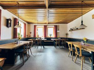 Gaststube im Gasthaus Fetz in Götteldorf