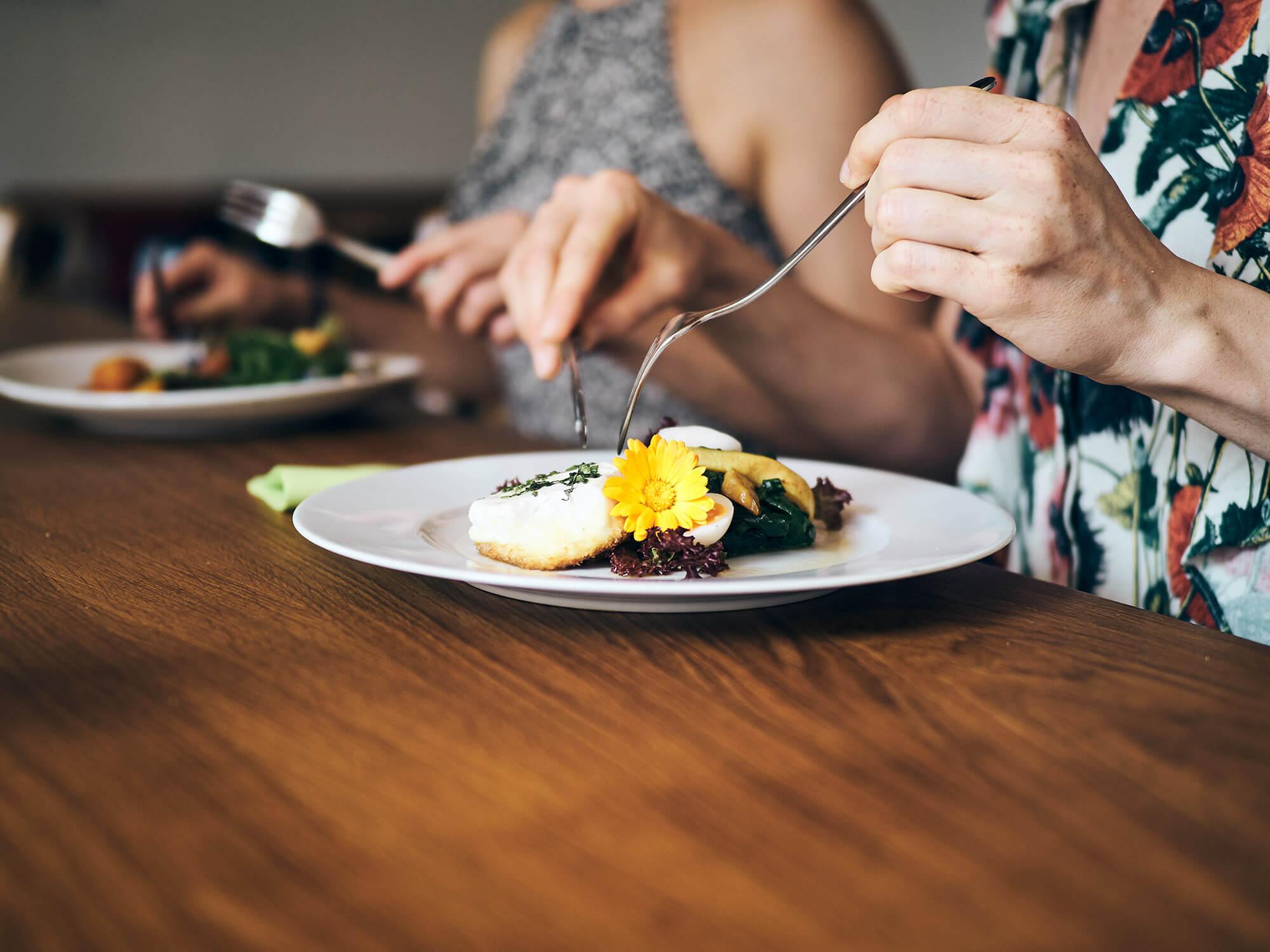 Genießen Sie geschmackvolles fränkische Essen imBio-Gasthaus Fetz